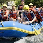 What Are Whitewater Rafts Made From?