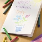 Mother's Day Writing Activities for Kindergarten Students