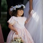 How to Make a Halo-Style Headdress for a Flower Girl