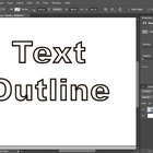 How to Have White Text With a Black Outline in Photoshop CS6