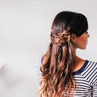 How to Do a Half Crown Braid