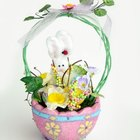 Easter baskets make good presents for small guests.