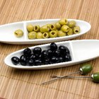 Black olives contain monounsaturated fats that help reduce bad cholesterol levels.