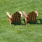 Adirondack chairs are popular even where there isn't a larger rustic design theme present.