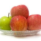 Apples contain soluble fiber.