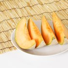 Cantaloupe is an excellent source of vitamin A.