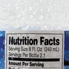 Read between the lines. Check the amount of sodium per serving on the nutrition facts label.