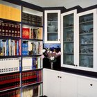 A shelving unit can be short or tall, big or small.
