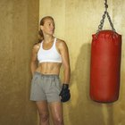 Abdominal Workout With a Punching Bag