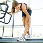 How to Apply Heat to a Calf Muscle Pulled During Exercise