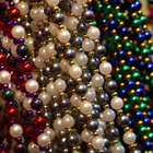 No Mardi Gras room is complete without beads.