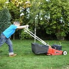 Lawn mowing should be performed frequently to promote healthy root growth.