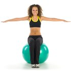 Stretches & Exercises With a Yoga Ball