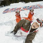 How to Fall on a Snowboard on a Jump