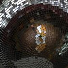 Hang a disco ball from the ceiling for fun.