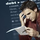 How Bad Debt Affects Your Credit Score