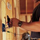 Household circuits support switched fixtures and electrical outlets.