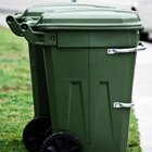 Contact local waste management authorities to see if they permit pet wastes in your garbage.