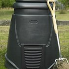 Ideal compost bins have open bottoms that let you move them before turning your compost.