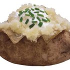 A medium baked potato with the skin on provides you with 926 milligrams of potassium.