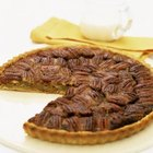 Pecan pie is an important dish for Thanksgiving feasts.