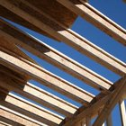 A traditionally framed roof for your deck will require an upgrade to your deck's footings and foundational structure.