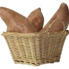 Yams are a good source of potassium and vitamin C.