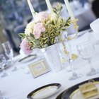 The Average Cost of Table Settings at a Wedding