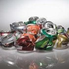 Discarded aluminum beverage cans are often recycled right back into new cans.