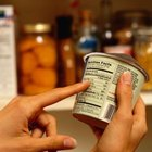 Check the food label to make sure a product's low in fat.