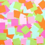 Send a pad of sticky notes full of encouraging thoughts and well wishes from family and friends.