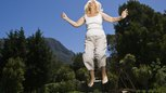 How to Lose Your Tummy With Trampoline Exercises