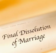 Georgia divorces aren't final until the court issues a divorce decree.