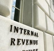 The IRS collects taxes on income earned by estates.