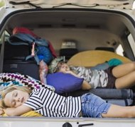 Equal time joint custody might require children to travel frequently.