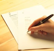 Your agent may sign financial papers for you.