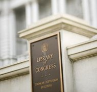 Mandatory deposits of published work go to the Library of Congress.