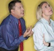 Disagreements in a divorce can cause stress.