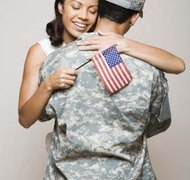 A power of attorney allows you to act on behalf of your deployed spouse.