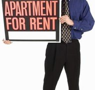 Apartment rentals can be owned by LLCs or other businesses.