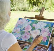 Paintings may be protected by trademark law under limited circumstances.