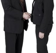 Partners often dissolve their business amicably.