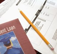 Student loans are almost impossible to discharge in bankruptcy.