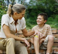 The primary caregiver is the parent who has historically taken care of the children's needs.