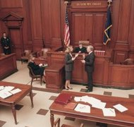 Custody, alimony, support and property division may be determined by the court.