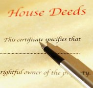A descendant can be removed from a property deed if the descendant does not want the property.