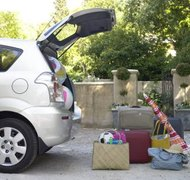 You can prepare for repossession by removing personal items from the car.