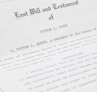 Submission of a will to the court kicks off the probate process.