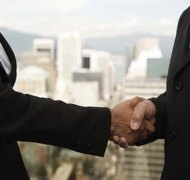 A legal partnership can result from a simple handshake.
