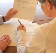Signing a power of attorney may allow your spouse to make decisions for you if you become incompetent.